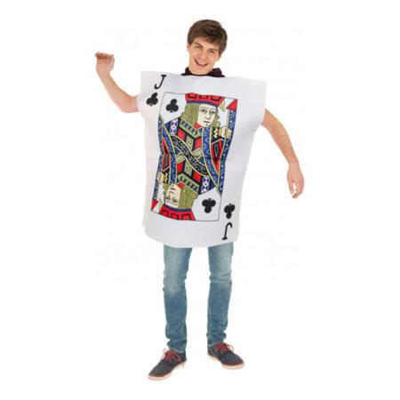 klær knægt kostume til voksne 450x450 - Kortspil kostume til voksne