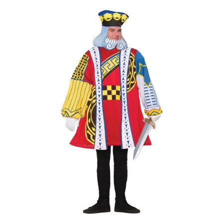 kortspil konge kostume til voksne 450x450 - Kortspil kostume til voksne