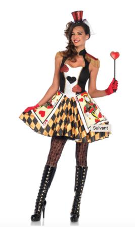 kortspil kostume til voksne 267x450 - Kortspil kostume til voksne