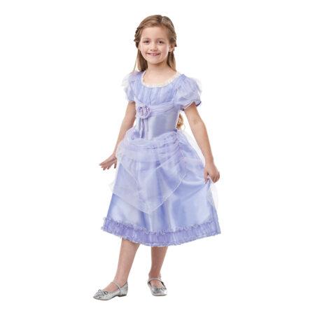 luksus clara lavender kostume til piger nøddeknækkeren børnekostume