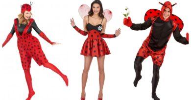 mariehøne kostume til voksne 2 390x205 - Mariehøne kostume til voksne