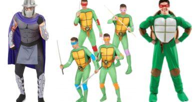ninja turtles kostume til voksne 1 390x205 - Ninja Turtles kostume til voksne