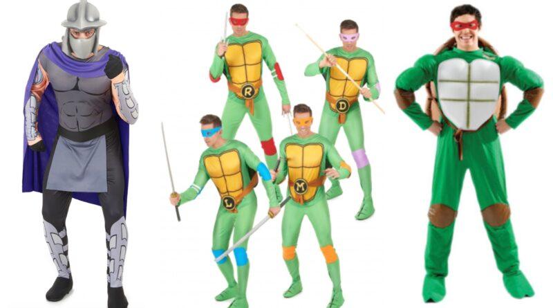 ninja turtles kostume til voksne 1 800x445 - Ninja Turtles kostume til voksne