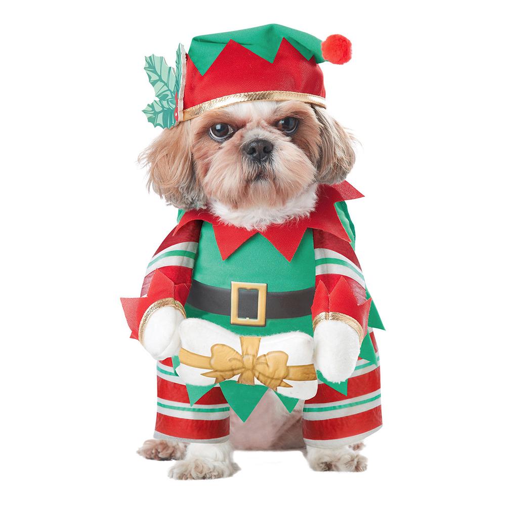 nisse hundekostume - Julekostume til hunde