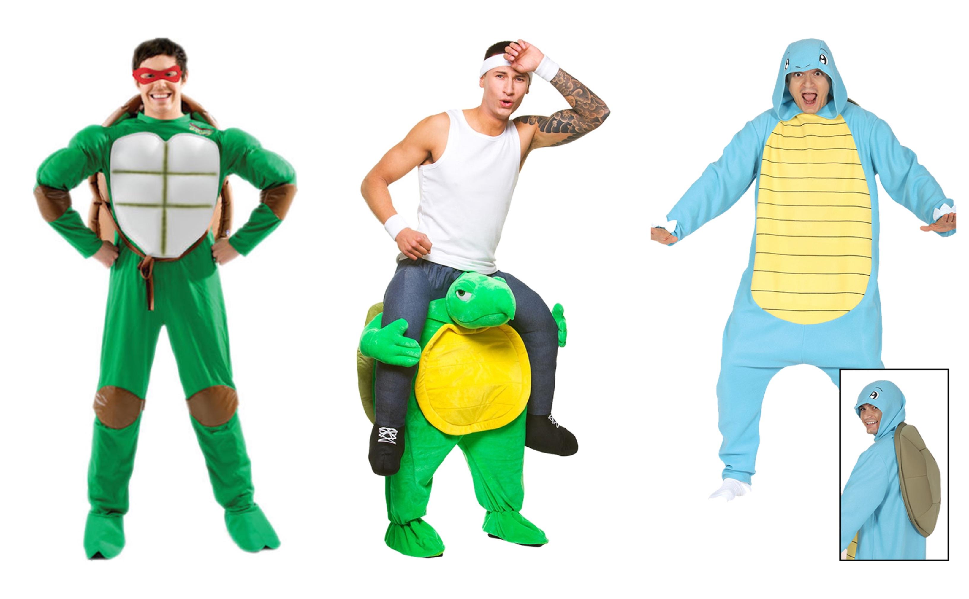 Skildpadde kostume til voksne KostumeUniverset