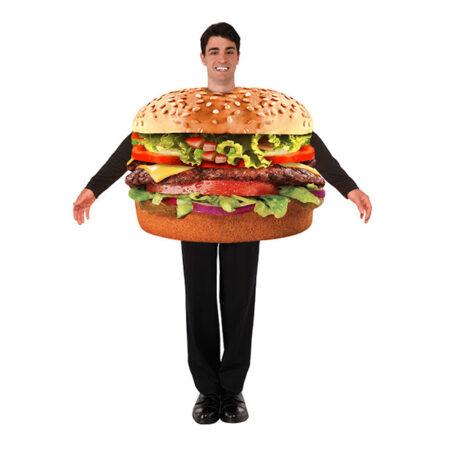 cheeseburger kostume til voksne 450x450 - Fastfood kostume til voksne