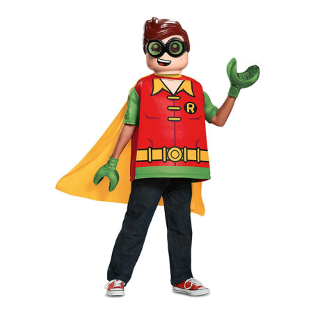 lego robin børnekostume 450x450 - Lego Batman kostume til børn