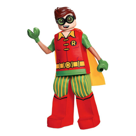 lego robin kostume til børn 450x450 - Lego Batman kostume til børn