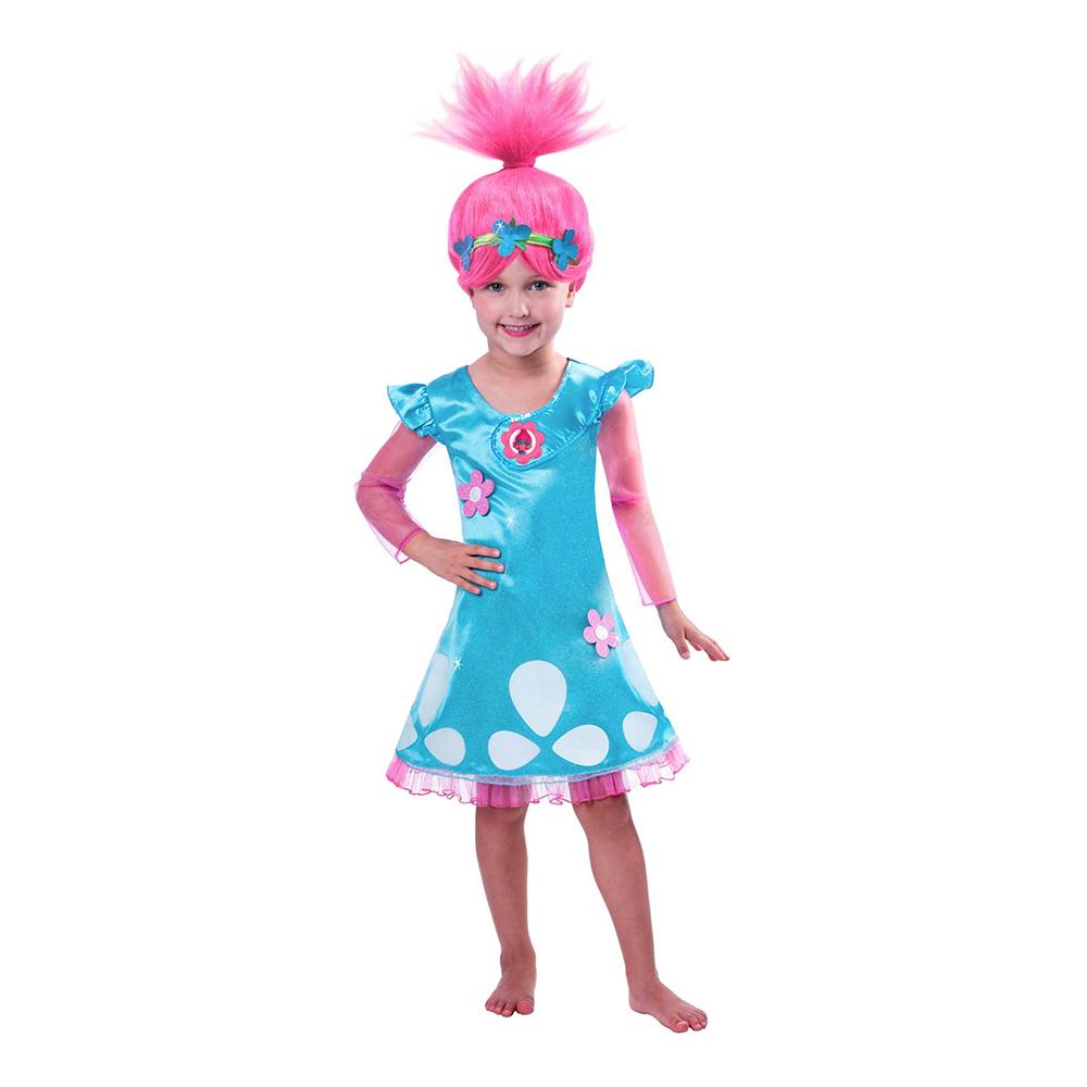 trolls poppy kostume til børn - Trolls kostume til børn