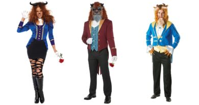 udyret kostume til voksne disney kostume til mænd udyret kostume til kvinder 390x205 - Udyret kostume til voksne