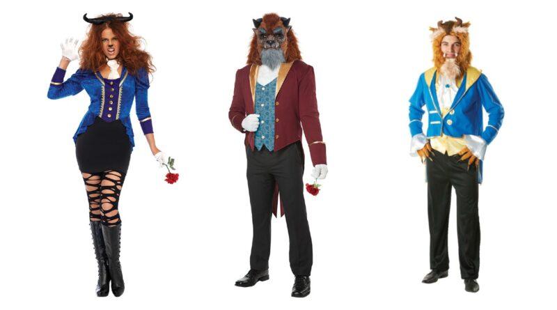 udyret kostume til voksne disney kostume til mænd udyret kostume til kvinder 800x445 - Udyret kostume til voksne