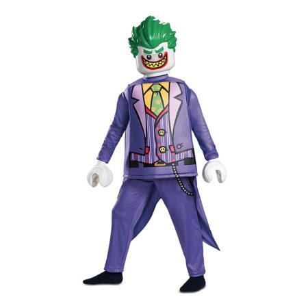 lego joker kostume til børn lego joker batman kostume