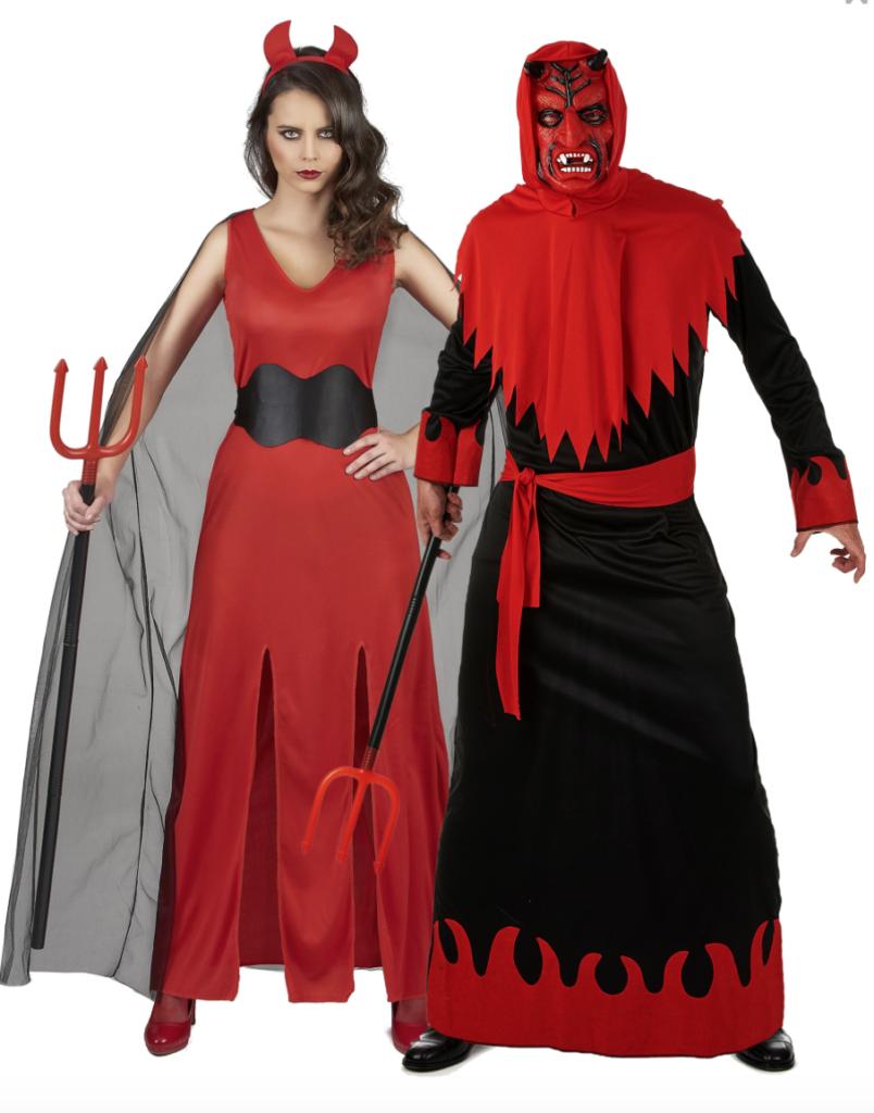 Dæmon par kostume til voksne 804x1024 - Halloween par kostume til voksne