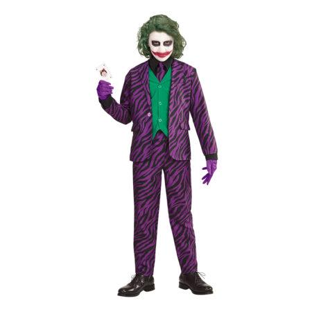 uhyggelig halloween kostume til børn joker kostume til børn joker børnekostume