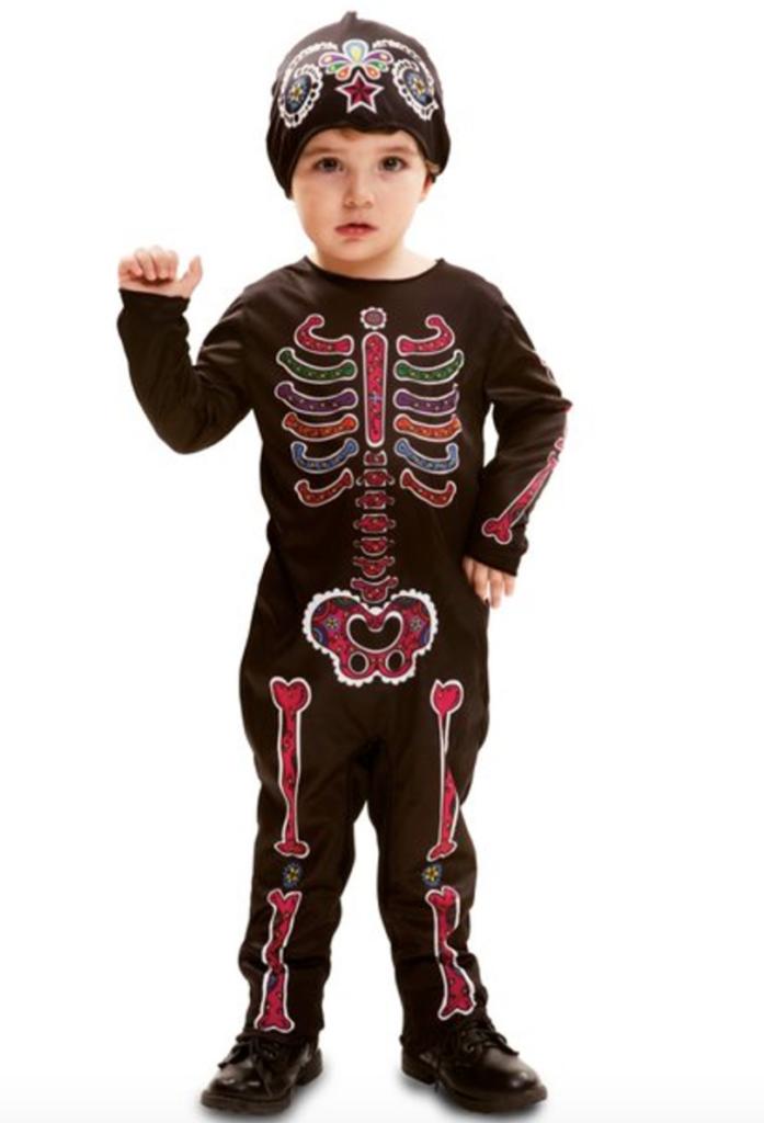 De dødes dag kostume til baby 697x1024 - Skelet kostume til baby