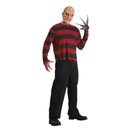 Freddy krueger kostume til voksne gyserfilm kostume til mænd halloween kostume gyserfilm