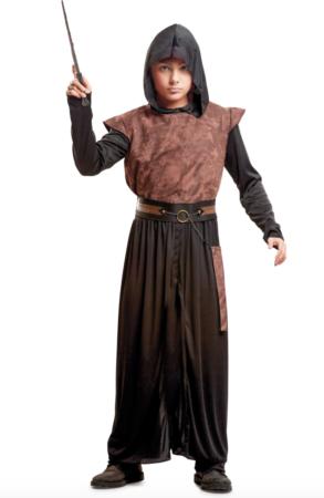 Kostume de ondes troldmand til drenge 293x450 - Troldmand kostume til børn