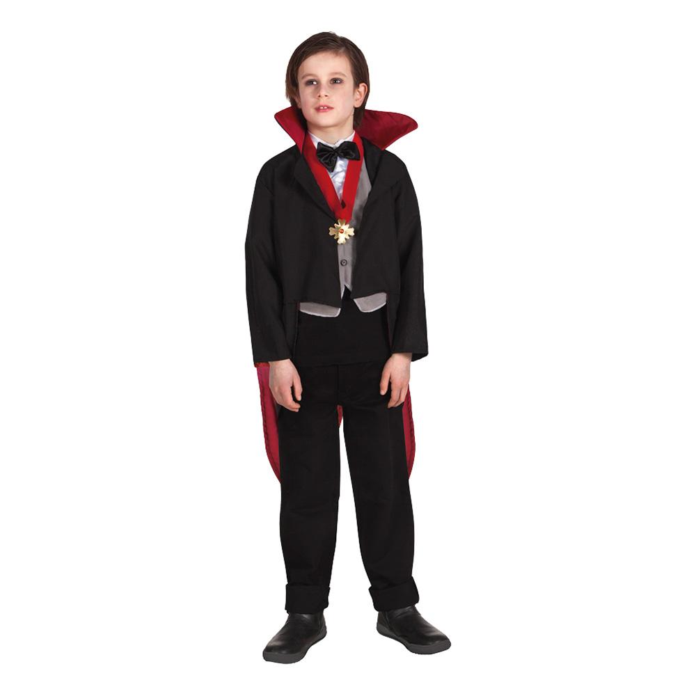 Vampyr kostume til børn - Dracula kostume til børn