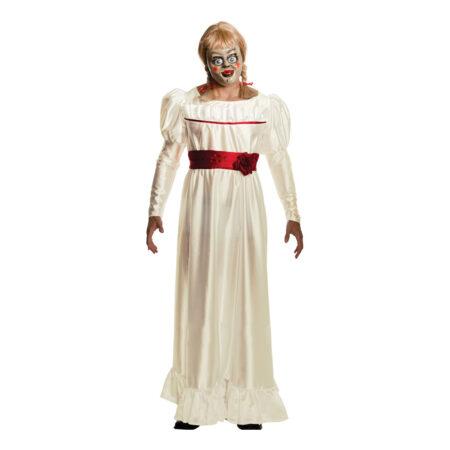 annabelle kostume til voksne gyserfilm kostume til kvinder horror film udklædning halloweenfest kostume