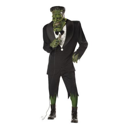 big frank frankenstein kostume til voksne gyserfilm kostume til voksne horror film kostume til voksne halloweenfest kostume 2019