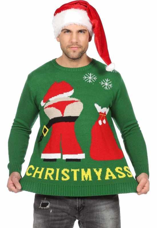 christmyass jule sweater kostumer jule toej - Julesweater til mænd