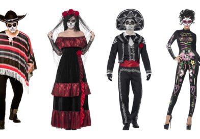 de dødes dag kostume til voksne, de dødes dag kostume til kvinder, de dødes dag kostume til mænd, de dødes dage kostumer, de dødes dag voksenkostumer, day of the dead kostumer til voksne