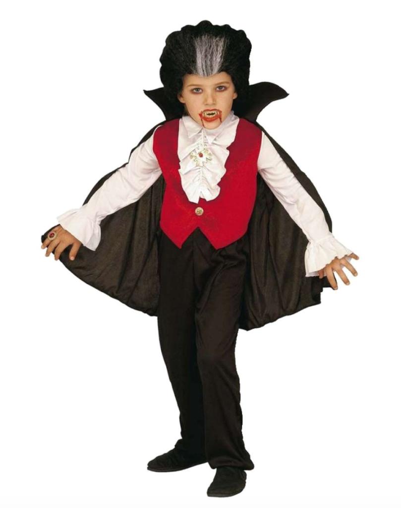 dracula børnekostume 809x1024 - Dracula kostume til børn