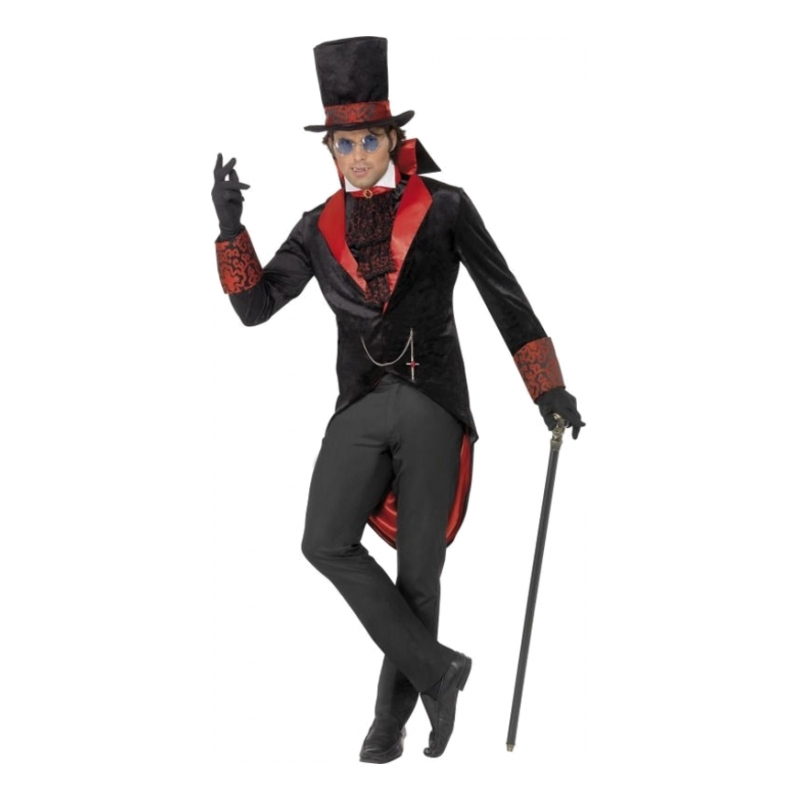 dracula halloween kostume til voksne - Dracula kostume til voksne