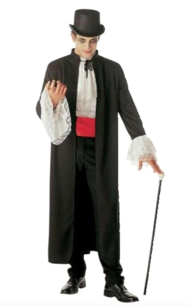 dracula kostume 638x1024 - Dracula kostume til voksne