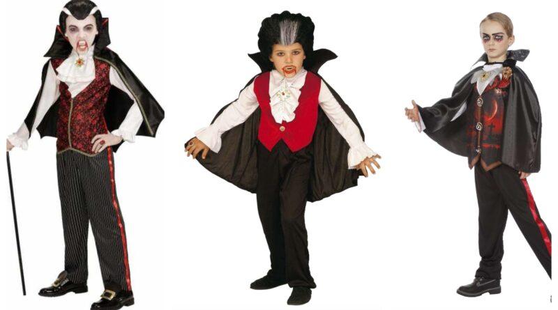 dracula kostume til børn, dracula udklædning til børn, dracula tøj til børn, dracula børnekostume, vampyr kostume til børn, halloween kostume til børn, uhyggelige kostumer til børn