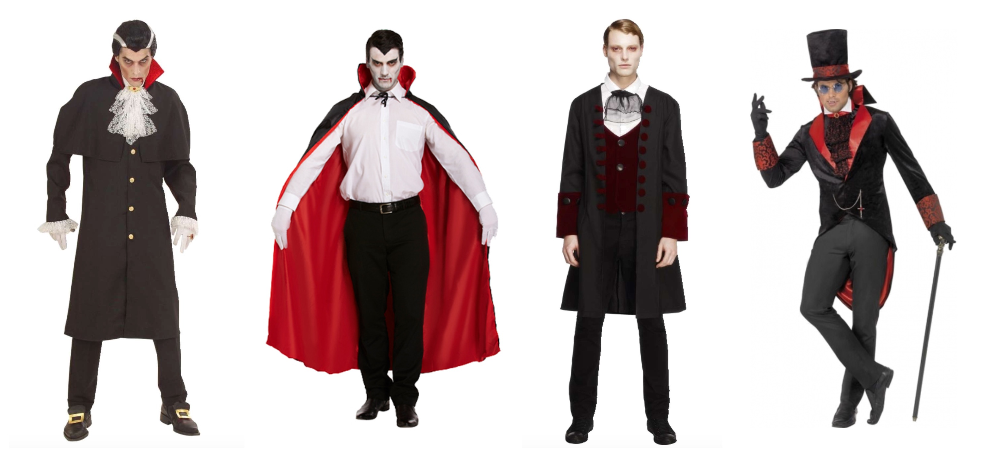 dracula kostume til voksne - Dracula kostume til voksne