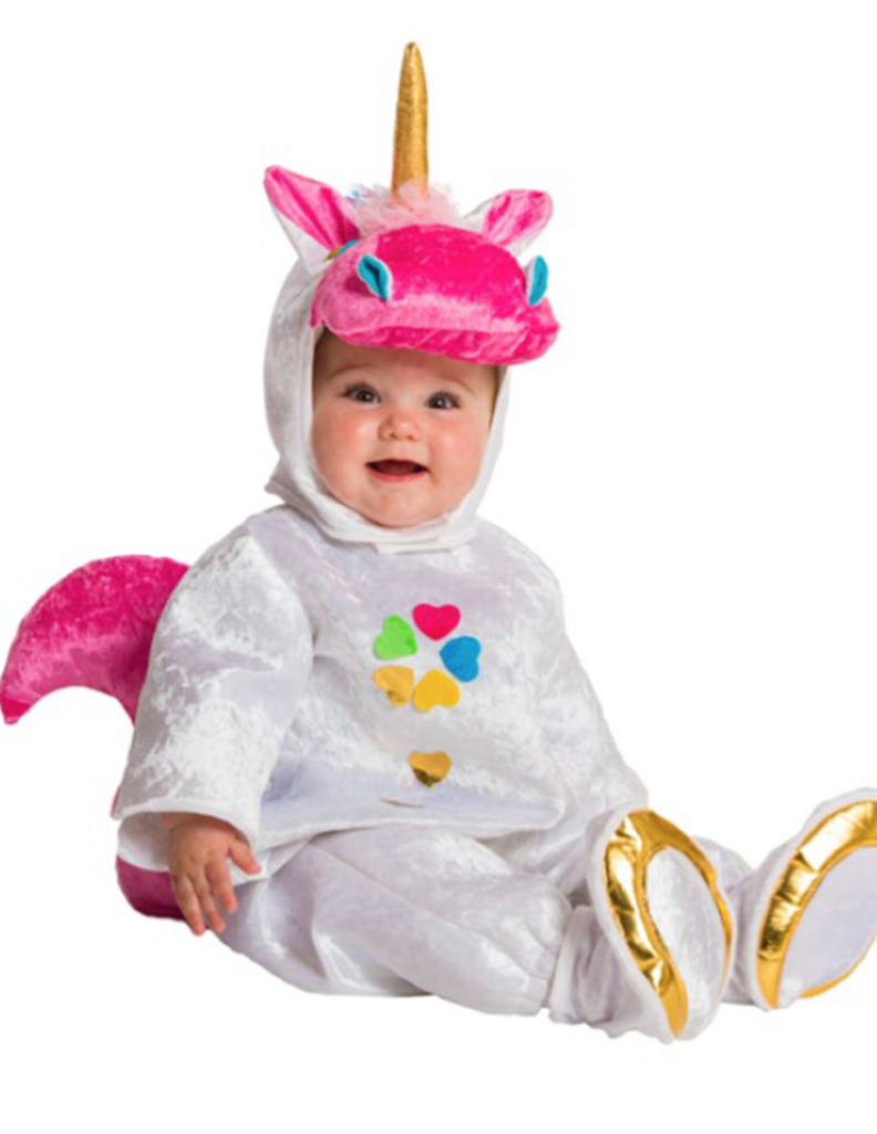 enhjørning babydragt 792x1024 - Enhjørning kostume til baby