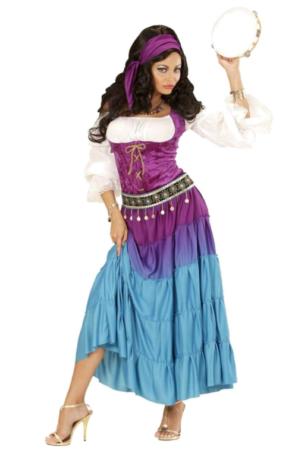 esmeralda kostume til voksne