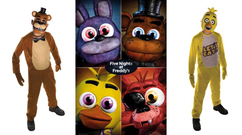 five nights at freddys kostume chica kostume freddy kostume