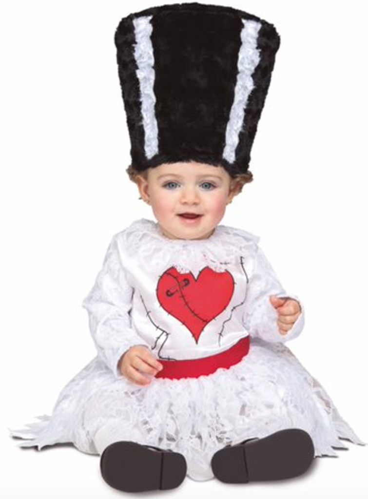 frankensteins brud babykostume 755x1024 - Frankenstein kostume til baby