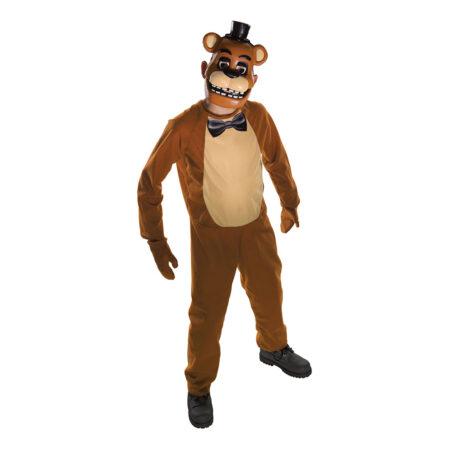 freddy kostume til børn five nights at freddys børnekostume cosplay kostume til børn