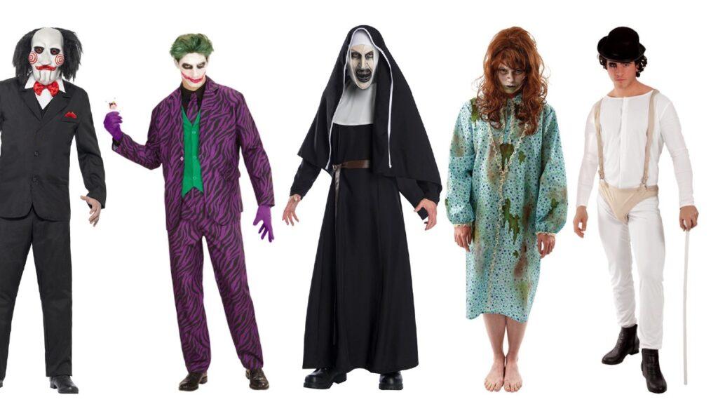 gyserfilm kostume til voksne uhyggeligt kostume til mænd halloween kostume til voksne