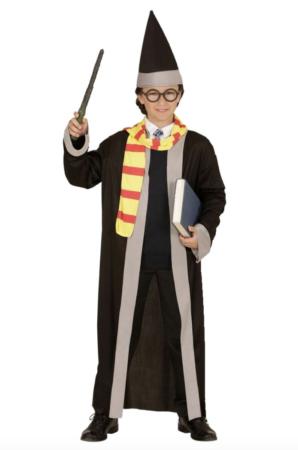 harry potter troldmand børnekostume 298x450 - Troldmand kostume til børn