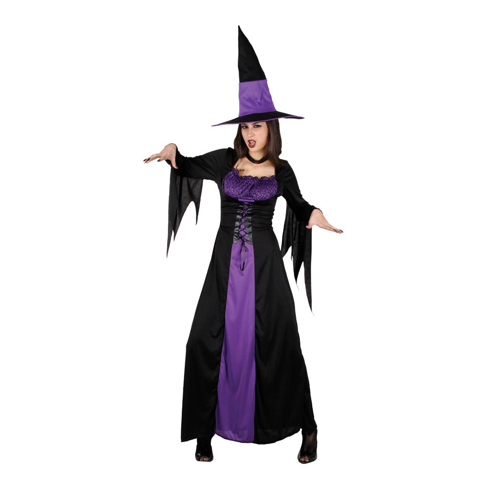 heks kostume plus size - Plus size kostume til halloween