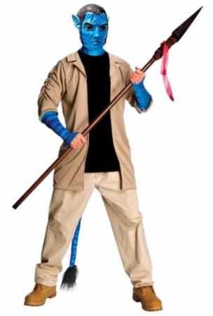 jake sully avatar kostume til mænd