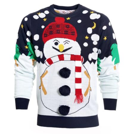 julesweater med snemand 450x450 - Julesweater til mænd