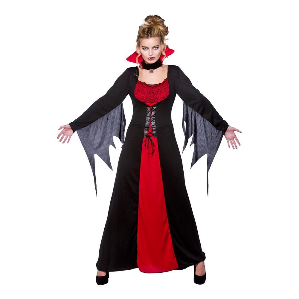 klassisk vampyr kostume plus size - Plus size kostume til halloween