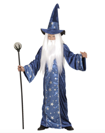 magisk troldmand børnekostume 355x450 - Troldmand kostume til børn