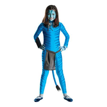 neyriti børnekostume avatar kostume til børn
