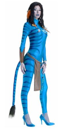 neytiri kostume til voksne avatar kostume blåt kostume til kvinder alien kostume til voksne