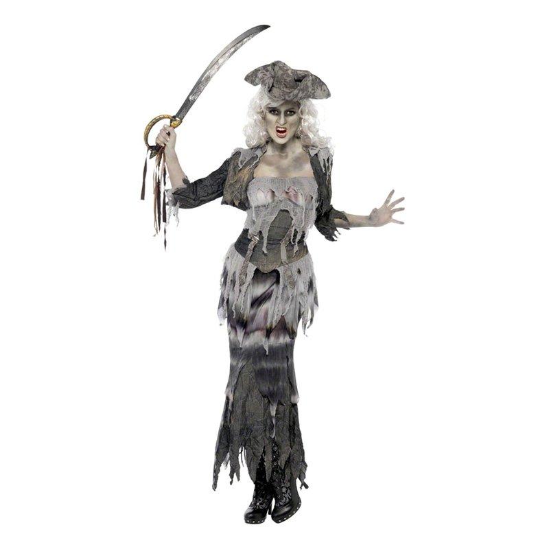 pirat kostume plus size - Plus size kostume til halloween