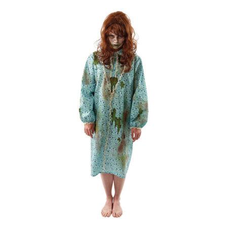 regan macneil ragan mc neil kostume til voksne gyserfilm voksenkostume haloweenfest kostume