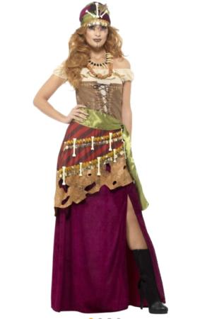 sigøjner dronning kostume til voksne voodoo kostume til kvinder