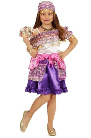 sigøjner kostume til barn sigøjner børnekostume