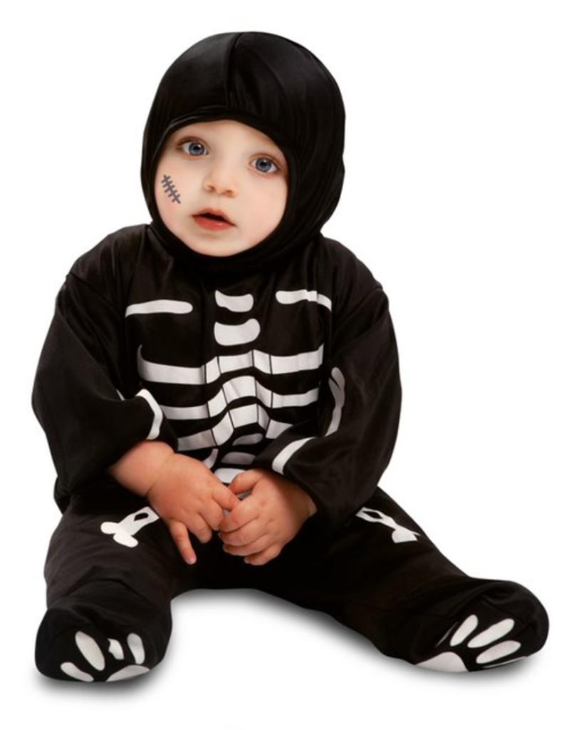 skelet babykostume til halloween 792x1024 - Skelet kostume til baby